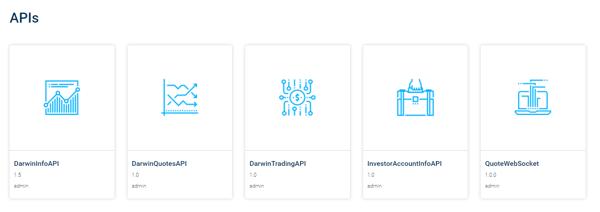 API Store Listing