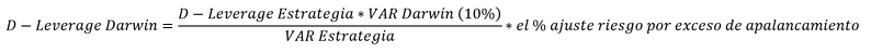 Fórmula D-Leverage