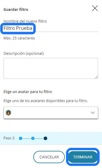 crear filtro 6
